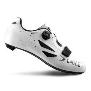 LAKE CX218 Carbon bílé - EU 50
