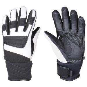 Leki Griffin S Lady lyžařské rukavice - č. 6,5 - bílá