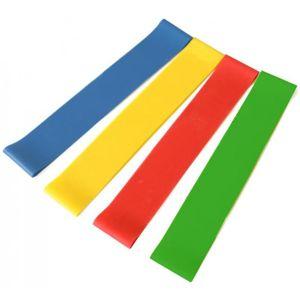 Livepro Odporová posilovací / aerobic gumy SET 4 KS - Sedco