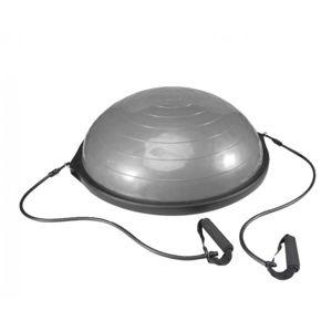 Liveup Balanční podložka Dome STEP Ball s expandery 660 mm - Šedá