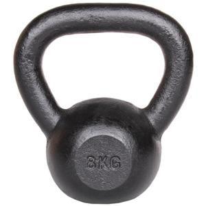 Merco Kettlebell kovový - černá 32 kg