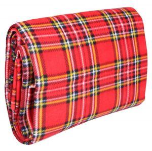 Merco Pikniková deka Hike 150 x 180 cm, skládací - červená
