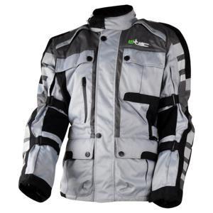 Moto bunda W-TEC Avontur Barva šedo-černá, Velikost S