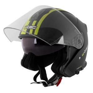 Moto helma W-TEC V586 Barva bílá perleť, Velikost M (57-58)