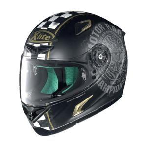 Moto helma X-Lite X-802RR Cafe Club Flat Black