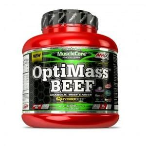 MUSCLECORE OPTIMASS BEEF GAINER 2500g Double Chocolate with Coconut
