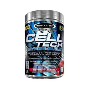 MuscleTech Cell-Tech Hyper-Build 30 dávek - ovocný punč
