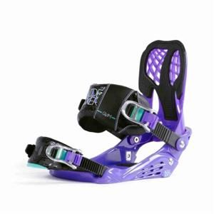 Nidecker Bindings Glam Purple (PURPLE) vázání - S/M