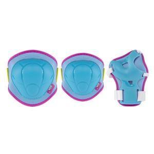 Nils H106 modro-růžové inline chrániče - XS