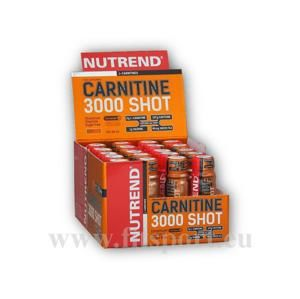 Nutrend Carnitine 3000 Shot 20x60ml ampule akce - Ananas