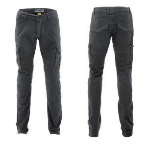 Pánské moto kalhoty PMJ Santiago Barva šedá, Velikost 32