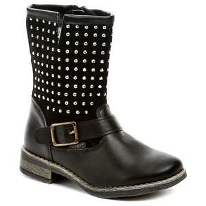 Peddy PV-533-36-01 černé dětské zimní boty - EU 28