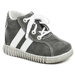 Pegres 1095 šedé dětské botičky - EU 18