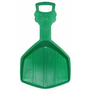 plastový kluzák Klaun sáňkovací lopata barva: žlutá