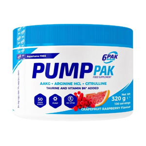 Pump PAK - 6PAK Nutrition 320 g Lemon Pineapple