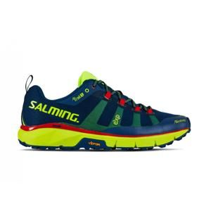Salming Trail 5 Men Poseidon Blue/Safety Yellow - 10 UK - 45 1/3 EU - 29 cm