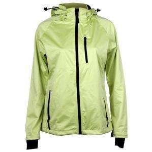 SBD-4 dámská softshellová bunda L;zelená sv.