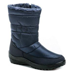 Scandi 262-0044-A1 modrá dámská zimní obuv - EU 36