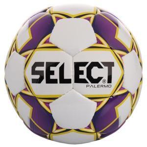 Select FB Palermo 2019 fotbalový míč - bílá-fialová č. 4