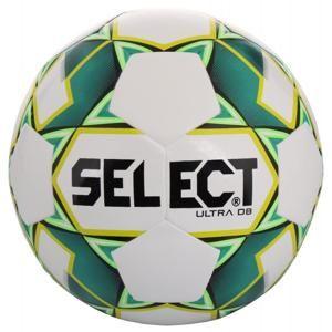 Select FB Ultra DB 2019 fotbalový míč - bílá-zelená č. 5