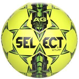 Select FB X Turf fotbalový míč - žlutá-šedá č. 4