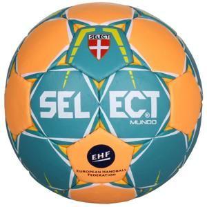 Select HB Mundo 2017 míč na házenou - č. 2 - zelená-oranžová