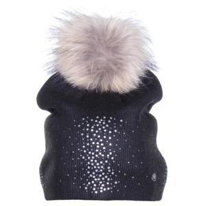 Shimmer dámská zimní čepice černá