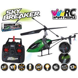 Sky Breaker střední 42cm 3ch vrtulník 2,4 GHz LED osvětlení RTF