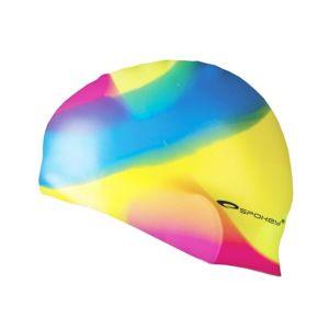 Spokey ABSTRACT Plavecká čepice silikonová Barva: žluto-zelená