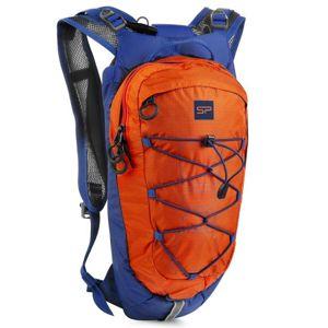 Spokey DEW Cyklistický a běžecký batoh 15 l, oranžovo-modrý