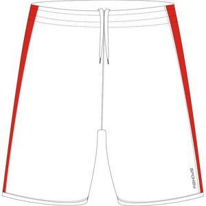 Spokey Fotbalové šortky bílé S - XXL Velikost: S