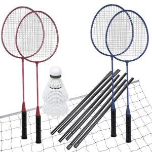 Spokey FUN START-Sada na badminton, 4 rakety,síť+rám,míčky