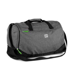 Spokey PIRX Sportovní taška šedá 35 l (VÝPRODEJ)