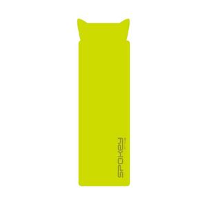 Spokey SAVORY PILLOW Samonafukovací karimatka s polštářkem 2,5 cm zelená