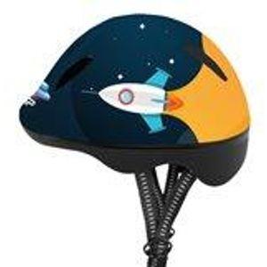 Spokey SPACE Dětská cyklistická přilba 49-56 cm