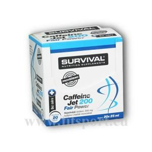 Survival Caffeine JET 200 20 ampulí á 25ml