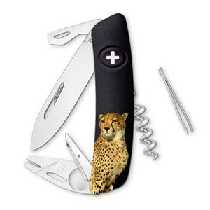 Swiza švýcarský kapesní nůž TT03 Leopard Wildlife