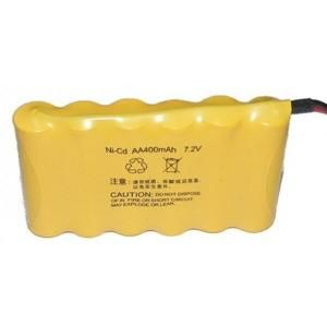 TPC NiCd 400mAh 7,2V battery pack