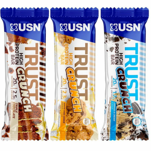 Tyčinka: Trust Crunch - USN 60 g Cookies and Cream