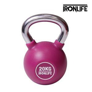Urethanový kettlebell IRONLIFE 20 kg