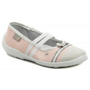 Vi-GGA-Mi Nadia šedo ružové dievčenské baleríny - EU 30