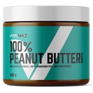 Vitalmax 100% Peanut Butter 400g jemné - jemná