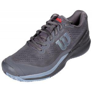 Wilson Rush Pro 3.0 2020 tenisová obuv - UK 8 - černá