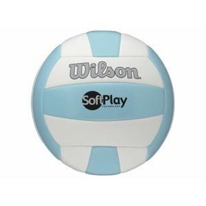 WILSON SOFT PLAY Volejbalový míč, modro-bílý, vel. 5