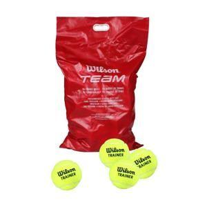Wilson Team W Trainer tenisové míče 96ks - 1 balení