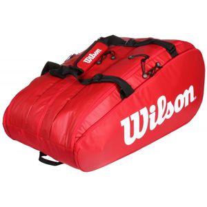 Wilson Tour 3 Comp 2019 taška na rakety - červená