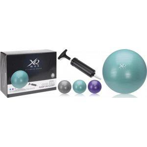 Xq Max Gymnastický míč ANTIBURST 75 cm - Fialová