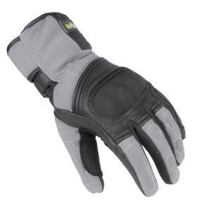 Zimní moto rukavice W-TEC NF-4004 Barva šedo-černá, Velikost S
